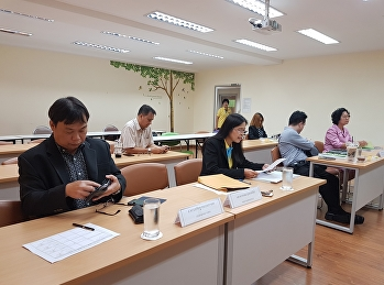 นักศึกษาสาขาวิชาบริหารธุรกิจ (บธ.ม.) สอบเค้าโครงวิทยานิพนธ์