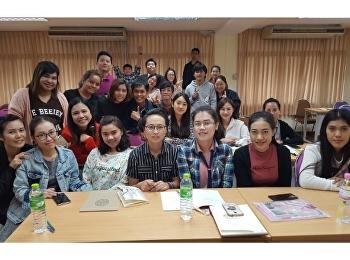 บรรยากาศวันเปิดเทอม ภาคเรียนที่ 2/2561 หลักสูตรบริหารธุรกิจมหาบัณฑิต