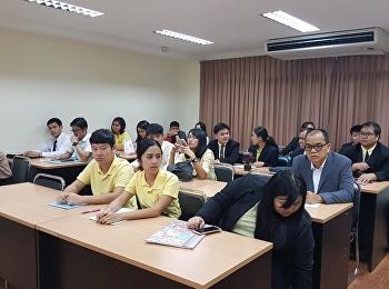 บรรยากาศการสอบสัมภาษณ์ นักศึกษาใหม่ รุ่นที่ 30 หลักสูตรบริหารธุรกิจมหาบัณฑิต #MBA #SSRU