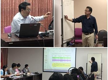 บรรยากาศ การเรียนการสอน MBA ภาคเรียนที่ 1/2563
